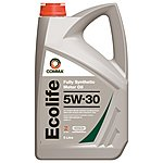 image of Comma Ecolife Fully Synthetic 5W30 Engine Oil 5L