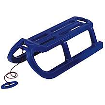 image of Snow Rodel Toboggan Sledge -  Blue