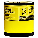 image of Halfords Wet & Dry Sandpaper Roll 1000g