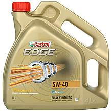 image of Castrol Edge Titanium 5W40  Oil 4 Litre