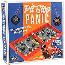 image of Pit Stop Panic Game
