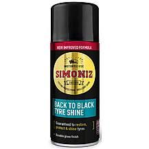 image of Simoniz Back to Black Tyre Shine Mini 150ml