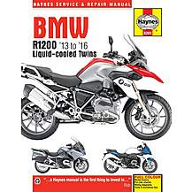 image of Haynes BMW R1200 Dohc Liquid-Cooled Twins 2013 to 2016 Manual