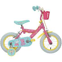image of Peppa Pig Kids Bike 12""