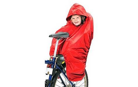 image of Hamax Child Bike Seat Rain Poncho