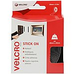 image of VELCRO Stick on Tape 20mm x 2.5m (Black)