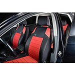 image of Ripspeed Car Seat Covers Full Set - Red