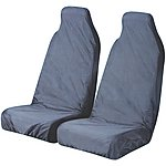 image of Halfords Car Seat Protectors - Front Pair