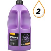Halfords 15W40 Part Synthetic Oil 5L