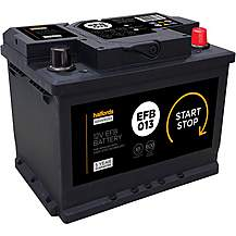 image of Halfords Start/Stop 12V Battery  EFB013 - 4 Year Guarantee