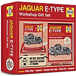 image of Haynes Jaguar e-Type Workshop Gift Set