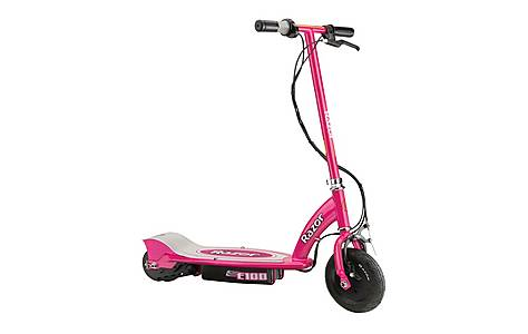 image of Razor E100 Electric Scooter - Pink