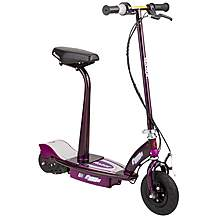 image of Razor E100S Seated Electric Scooter - Purple