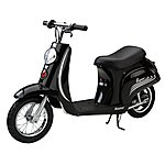 image of Razor Pocket Mod Electric Ride On - Black