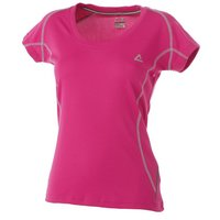 Dare 2b Womens Moonglow Cycling Jersey in Extreme Pink (14)
