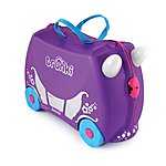 image of Trunki Princess Penelope Carriage Ride on Suitcase
