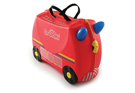 Trunki Freddie the Fire Engine Ride on Suitcase