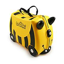 image of Trunki Bernard Bee Ride on Suitcase
