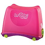 image of Trunki Travel Ride on Toy Box Pink