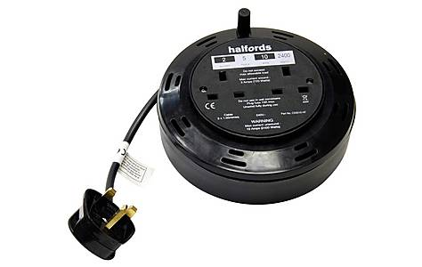 image of Halfords 5 metre Cable Reel