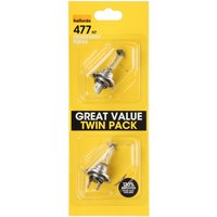 Halfords (HBU477) 55W H7 Car Bulbs x 2