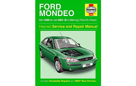 image of Haynes Ford Mondeo (Oct 00 - Jul 03) Manual