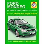 image of Haynes Ford Mondeo (Oct 00 - Jul 03) Manual