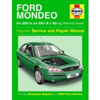 Haynes Ford Mondeo (Oct 00 - Jul 03) Manual