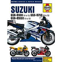 image of Haynes Suzuki GSX-R600 (01 - 03) GSX-R750 (00 - 03)