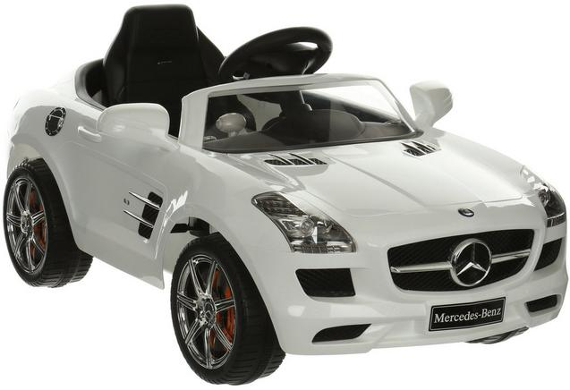 Halford Mercedes SLS Electric Ride on Car 6V