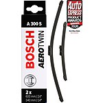 image of Bosch A300S Wiper Blades - Front Pair