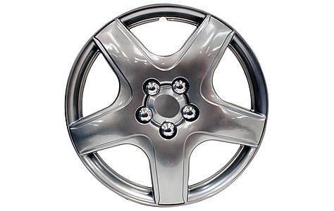 image of Halfords Memphis 15 Inch Wheel Trims - Set of 4