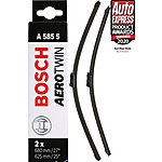 image of Bosch A585S Wiper Blades - Front Pair