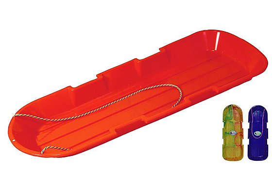 Sno-Twin Toboggan Sledge