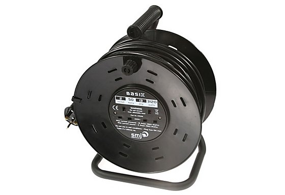 SMJ Basix Cable Reel 50M 13 Amp