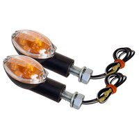 GTmoto Oval Indicators with Clear Lens