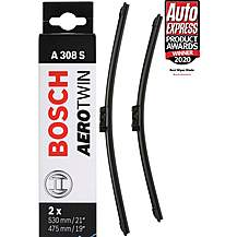 image of Bosch A308S Wiper Blade - Front Pair