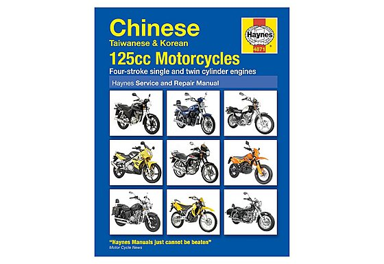 Haynes Chinese, Taiwanese & Korean 125cc Motorcycles