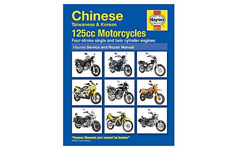 image of Haynes Chinese, Taiwanese & Korean 125cc Motorcycles