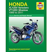 image of Haynes Honda XL 125V / VT125C (99-11) Manual