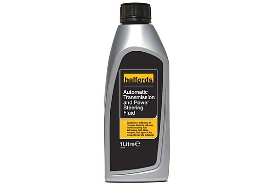 Halfords Advanced Transmission & Power Steering Fluid 1L