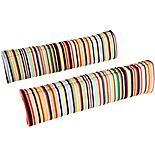 Halfords Striped Memory Foam Seat Belt Pads