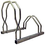image of Cycle Stand Rack - Staggered Heights
