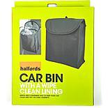 Halfords Car Bin with Waterproof Lining