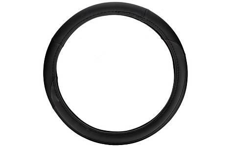 image of Halfords Black Rally Steering Wheel Cover