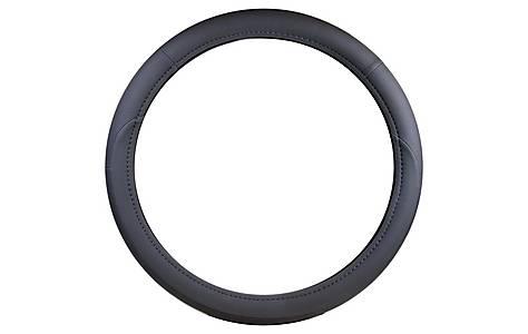image of Halfords Grey Rally Steering Wheel Cover