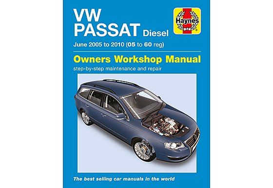 Haynes VW Passat Diesel (June 05 to 10)