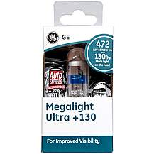 image of GE 472 H4 +130 Brighter Headlight Bulb x 1