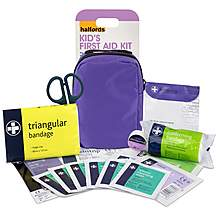 image of Halfords Childrens First Aid Kit - Purple