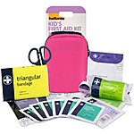 image of Halfords Childrens First Aid Kit - Pink